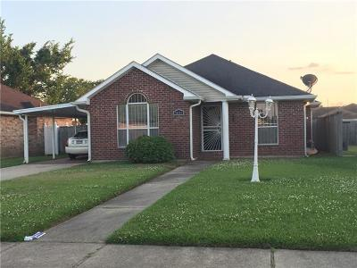 New Orleans Single Family Home For Sale: 7608 Anne Marie Court