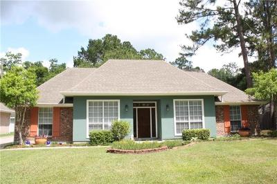 Slidell Single Family Home For Sale: 104 Aberdeen Drive