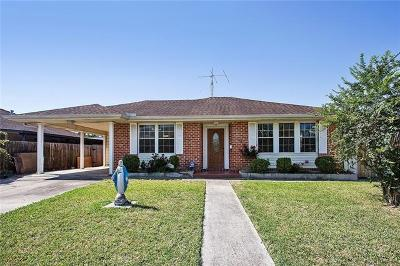 New Orleans Single Family Home For Sale: 1214 Filmore Avenue
