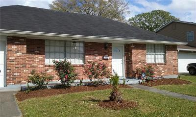 Metairie Single Family Home For Sale: 3013 Roberta Street