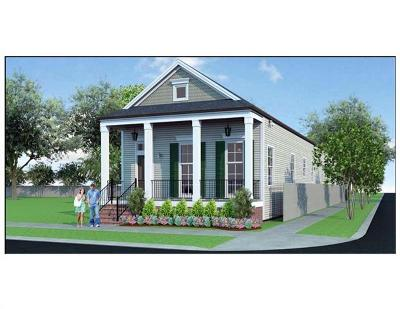 New Orleans Single Family Home For Sale: 1503 Lesseps Street