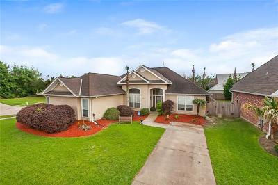 Kenner Single Family Home For Sale: 241 Little Bayou Lane