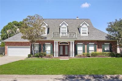 Marrero Single Family Home For Sale: 30 Briarfield Drive