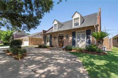 Metairie Single Family Home Pending Continue to Show: 3512 Tolmas Drive