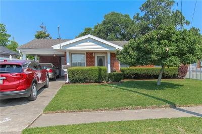 Metairie Single Family Home For Sale: 1016 Thirba Street