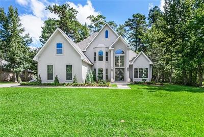Mandeville Single Family Home For Sale: 73 Tupelo Trace