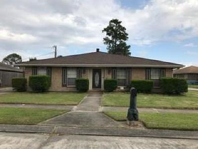 Marrero Single Family Home For Sale: 3213 Pansy Court