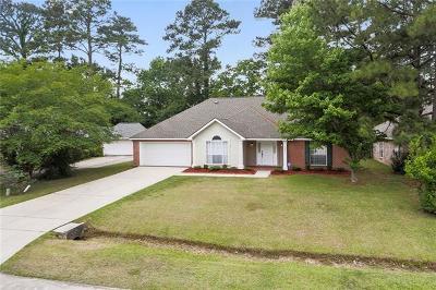 Mandeville Single Family Home For Sale: 1817 Octavia Drive