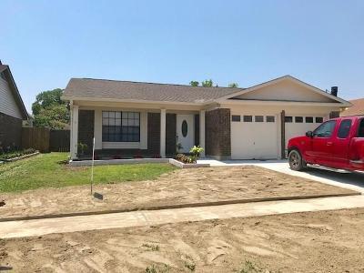 Harvey Single Family Home For Sale: 2129 Titan Street