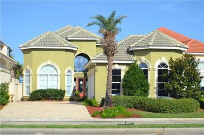 Slidell Single Family Home For Sale: 1084 S Marina Villa Drive