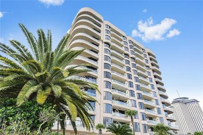 New Orleans Condo For Sale: 600 Port Of New Orleans Place #5G