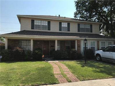 Gretna Single Family Home For Sale: 864 Hickory Street