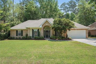 Mandeville Single Family Home For Sale: 4034 Azalea Court