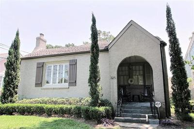 Metairie Single Family Home Pending Continue to Show: 325 Brockenbraugh Court