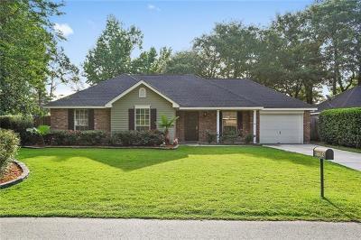 Covington Single Family Home For Sale: 70384 5th Street