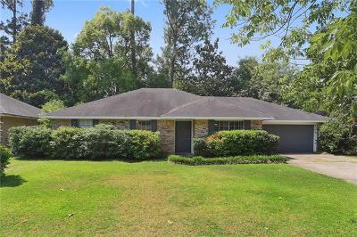 Slidell Single Family Home For Sale: 1517 Maplewood Drive