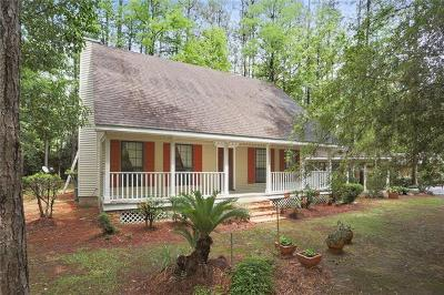 Mandeville Single Family Home For Sale: 68284 Nosworthy Drive