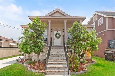 New Orleans Single Family Home For Sale: 5509 Vermillion Boulevard
