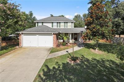 Slidell Single Family Home For Sale: 433 Spartan Loop