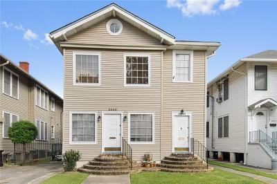 New Orleans Multi Family Home For Sale: 2338 Audubon Street