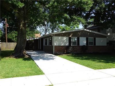River Ridge, Harahan Single Family Home For Sale: 620 Hester Avenue