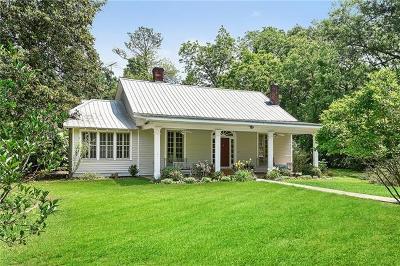 Covington Single Family Home For Sale: 75654 River Road