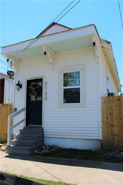 New Orleans Single Family Home For Sale: 2122 Second Street