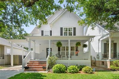 New Orleans Single Family Home For Sale: 224 26th Street