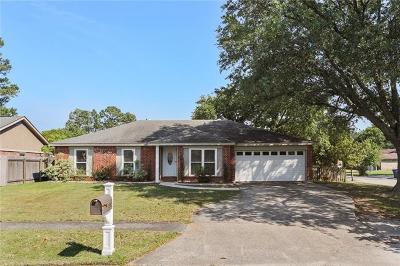 Slidell Single Family Home For Sale: 125 Ninth Street