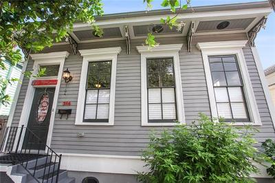 New Orleans Single Family Home For Sale: 3116 Cleveland Avenue
