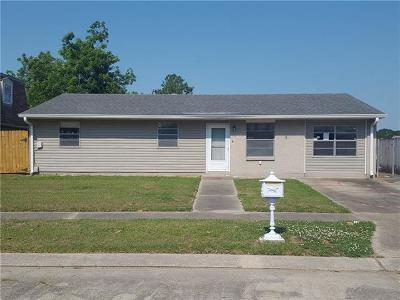 Marrero Single Family Home For Sale: 5008 Middlebury Street