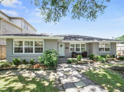 New Orleans Single Family Home For Sale: 5600 Chatham Drive