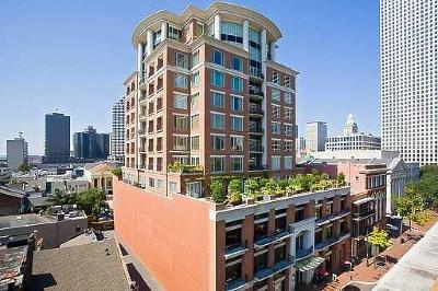 New Orleans Condo For Sale: 625 St. Charles Avenue #8D