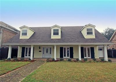 Metairie Single Family Home Pending Continue to Show: 3904 N Hullen Street