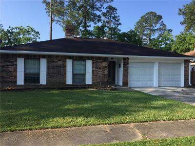 Slidell Single Family Home For Sale: 113 N Queens Drive