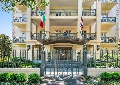 New Orleans Condo For Sale: 2600 St Charles Ave Avenue #3A