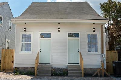 New Orleans Single Family Home For Sale: 1217 N Johnson Street