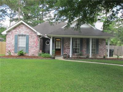 Mandeville Single Family Home For Sale: 180 Highland Drive