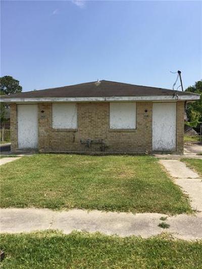 New Orleans Multi Family Home For Sale: 8324 Hammond Street