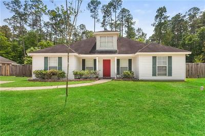Slidell Single Family Home For Sale: 503 Jefferson Drive