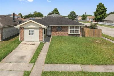 New Orleans Single Family Home For Sale: 5447 Patio Way