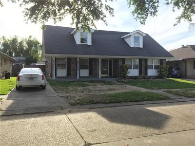 Metairie Single Family Home For Sale: 1116 Smith Drive
