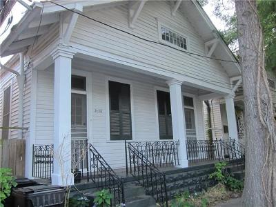 New Orleans Single Family Home For Sale: 3138 Maurepas Street