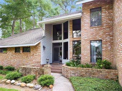 Mandeville LA Single Family Home For Sale: $650,000