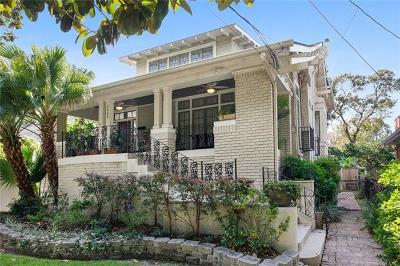 Single Family Home For Sale: 7808 Freret Street