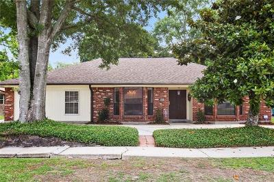 River Ridge, Harahan Single Family Home Pending Continue to Show: 8805 Darby Lane