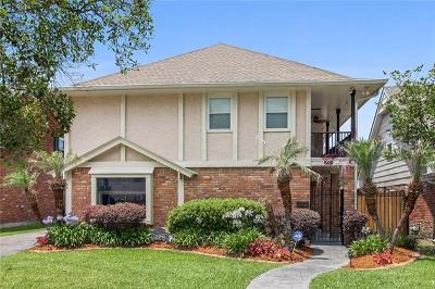 Metairie Single Family Home For Sale: 6125 Flower Drive
