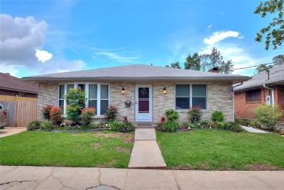 Metairie Single Family Home For Sale: 956 Martin Behrman Walk