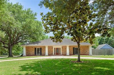 Destrehan Single Family Home For Sale: 108 Ormond Boulevard