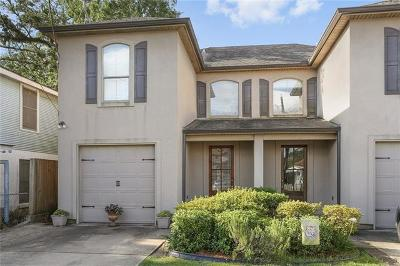 Metairie Townhouse For Sale: 4804 Finch Street